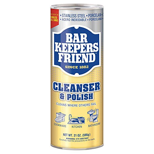 Price comparison product image Bar Keeper's Friend - Multipurpose Household Cleanser and Polish (21 oz)