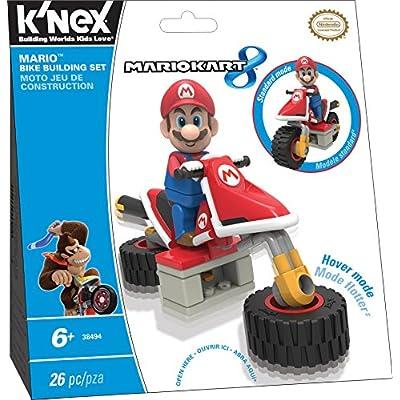 K'NEX Mario Kart 8  - Mario Bike Building Set: Toys & Games