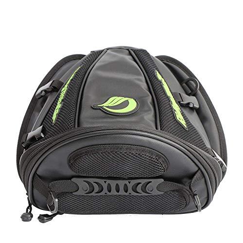 Sutekus Tail Pack/Seat Bag for Motorcycles & Motorbikes (Black)