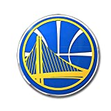 Officially Licensed NBA Aluminum Emblem - Golden State Warriors