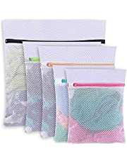 Kaxofang Mesh Laundry Bags for Sweater,Blouse,Hosiery,Bras,Etc. Upgraded Laundry Bags for Travel Storage Organization (5 Set)