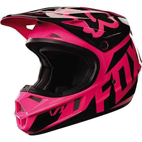 Fox Racing 2017 Race  Youth/Kids  V1 Motocross Motorcycle Helmet - Pink / Medium