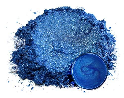 "Eye Candy Mica Powder Pigment ""Ocean Blue"" (50g) Multipurpose DIY Arts and Crafts Additive | Natural Bath Bombs, Resin, Paint, Epoxy, Soap, Nail Polish, Lip Balm"