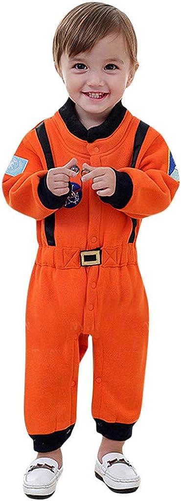 XshuaiRTE Ensemble de v/êtements pour Nouveau-n/é b/éb/é gar/çon Combinaison de Jeu de r/ôle Astronaute Spaceman Cosplay