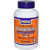 Pantethine, 600 mg 60 Softgels (Pack of 2)