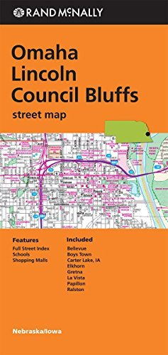 Omaha/Lincoln/Council Bluffs (Rand Mcnally) by Rand McNally - Mall Omaha Shopping