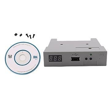 Sookg Memoria USB DE 3,5 Pulgadas, 1000 Floppy, emulador de Simulación con Teclado de 1,44 MB: Amazon.es: Informática