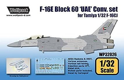 Amazon.com: WOLFPACK 1: 32 °F-16E bloque 60 UAE Juego de ...