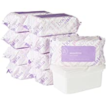 [Sponsored] Amazon Elements Baby Wipes, Sensitive, 720 Count, Resealable Packs with Tub