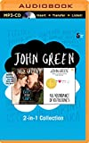 img - for John Green   The Fault in Our Stars and An Abundance of Katherines (2-in-1 Collection) book / textbook / text book