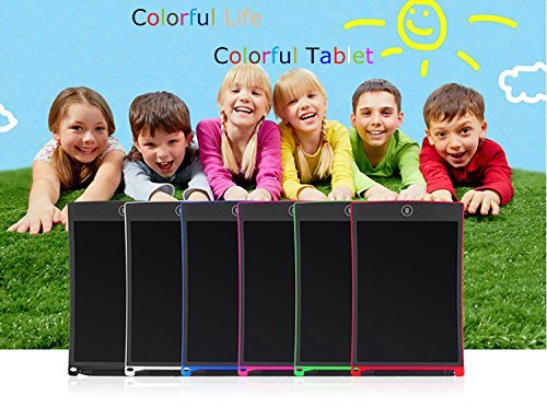 8.5 inch Smart Writing Pad, Teetox Liquid Crystal Drawing Board Children's Learning Board Electronic Graffiti Board, The For Children (Red) by Teetox (Image #8)