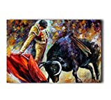 Poster Hmbrothers Stylish Art Print Spanish Matador March Pattern Print Wall Decorative Wall Poster 20-Inch By 30-Inch