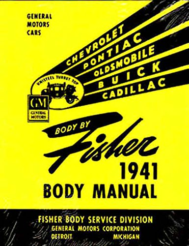 (COMPLETE & UNABRIDGED 1941 1942 OLDSMOBILE FISHER BODY FACTORY REPAIR SHOP MANUAL INCLUDES: A, B and C body types. OLDS 41 42)