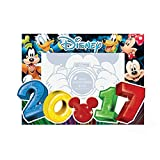 Disney Mickey Mouse Donald Duck Goofy Pluto 4 x 6 Big numbers picture frame
