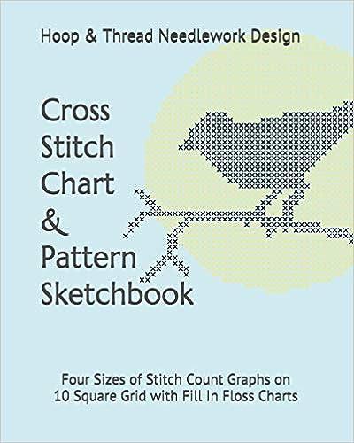 Cross Stitch Chart & Pattern Sketchbook