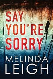 Say You're Sorry (Morgan Dane Boo