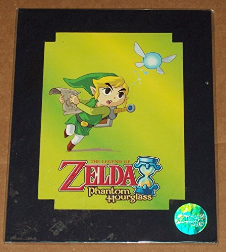 The Legend of Zelda Phantom Hourglass Limited Edition Print Number 47,958 of 50,000 Nintendo DS 10