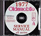 1977 Oldsmobile CD-ROM Repair Shop Manual