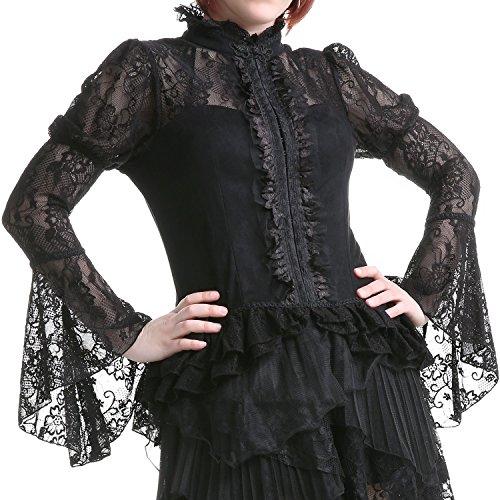 Camisa Negra Elegante