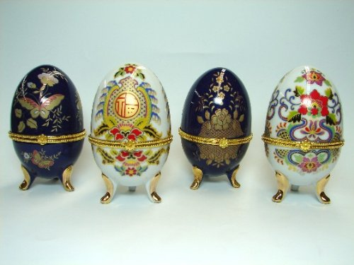 Good Luck Egg - Chinese Decorated Eggs-white:good luck