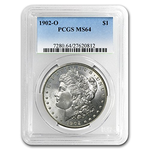 1902 O Morgan Dollar MS-64 PCGS $1 MS-64 PCGS ()