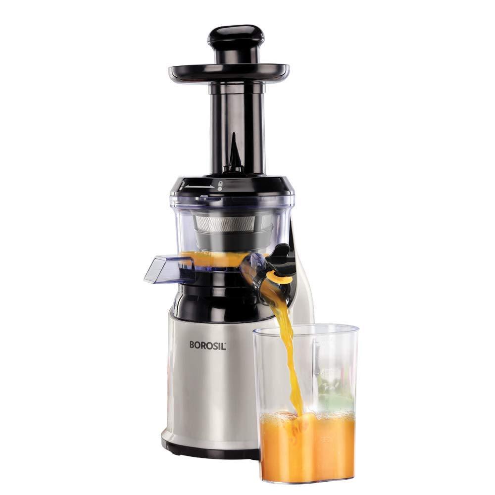 Borosil Health Pro BSJU20WB13 200-Watt Slow Juicer