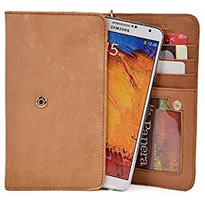 Kroo Handbag Clutch Wallet Case with Matching Wrist Strap for Meizu MX3 - Many Colors Available