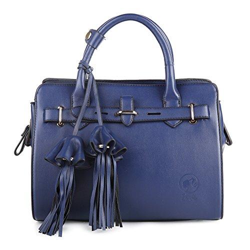 BarbieBBFB045 2017 Noveddad Bolsos Mujeres de Princesa Casual de Simple Moderno Azul