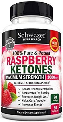 Raspberry Ketones Maximum Strength 1000mg. Extreme Weight Loss & Carb Blocker: Get Slim Fast. Potent Appetite Suppressant & Fat Burner. All Natural, No Side Effects. Made in USA. Money Back Guarantee