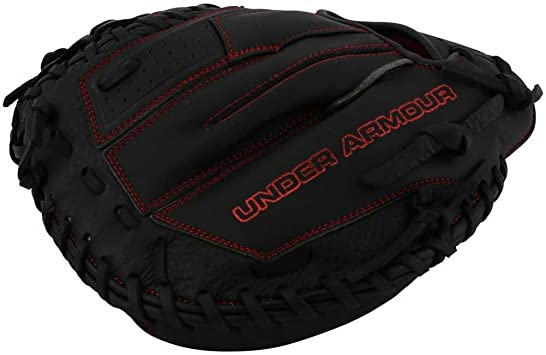 Under Armour Baseball UACM-100 Framer Series Baseball Catching Mitt Black Adult 33.5