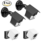 HOLACA Protective Weatherproof Housing+Security Mount,with Wall and Ceiling Mount for Wyze Cam 1080p HD Camera and iSmart Alarm Spot Camera,6 in1 Accessory Kit