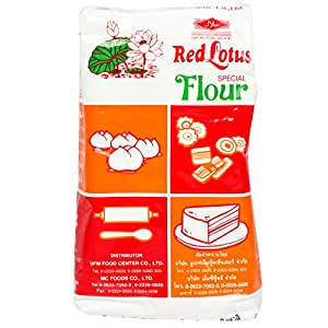 Amazon.com : Red Lotus Special Flour for Steamed Cakes ...