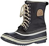 Sorel Women's 1964 Premium CVS Boot, Black/Fossil, 8 M US