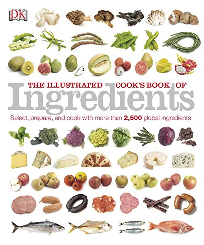 Illustrated Cooks Book Ingredients Books