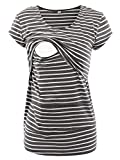 Liu & Qu Layered Irregular Long Sleeve Shirt Nursing Tops For Breastfeeding