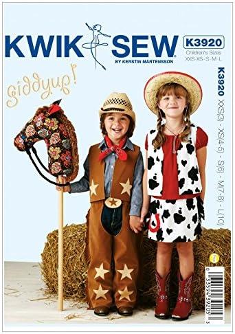 Kwik Sew Schnittmuster ChildrenS 3920-Kost/üme, O//S