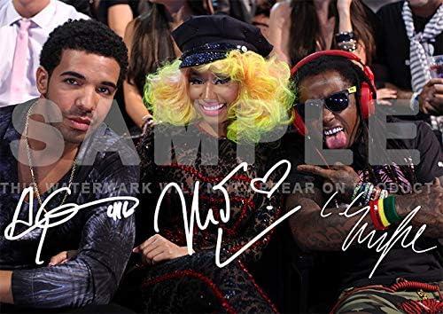 A4 Heavyweight Art Print Rapper and Musician Drake Original A4 Poster