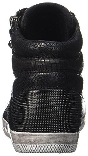 Derby Gabor Mujer Zapatos de Cordones para Negro Basic Shoes Comfort Schwarz Micro 864f8BY