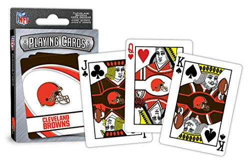 MasterPieces NFL Cleveland Browns Playing - Sports Playing Cards
