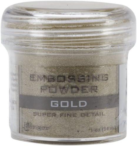 Ranger Embossing Powder, Super Fine Gold