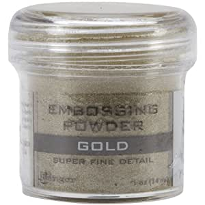 Ranger Embossing Powder, Super Fine Gold