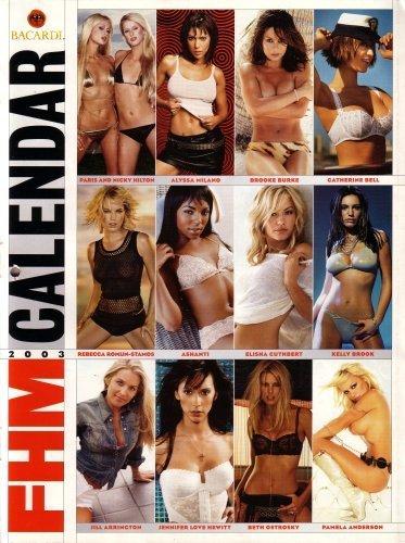 Bacardi & FHM 2003 Calendar: Featuring Paris H…