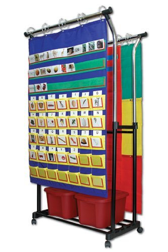 * DOUBLE POCKET CHART STAND & by MotivationUSA by MotivationUSA