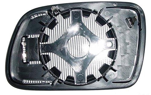 Verre plaque miroir r/étroviseur 407 2004 droit thermique