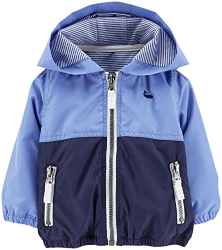 Carter's Two Tone Jacket (Baby) - Blue/Navy