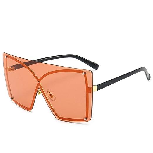 Yangjing-hl Gafas de Sol de gradiente Mujer Gafas de Sol de ...