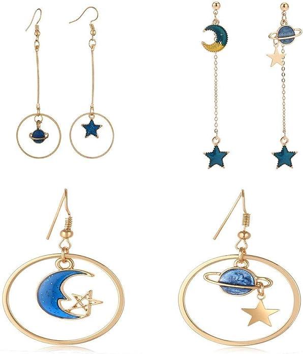 Witchy Earrings Silver Sun Earrings Sun Dangle Earrings Celestial Earrings Planet Earrings Sun Earrings Aesthetic Earrings