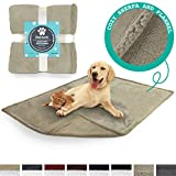 PetAmi Premium Pet Blanket for Dog, Cat, Puppy, Kitten | Plush Pet Fleece Blanket for Medium & Large Dogs | Reversible, Warm, Sherpa Microfiber Throw – 40 x 50 Inches