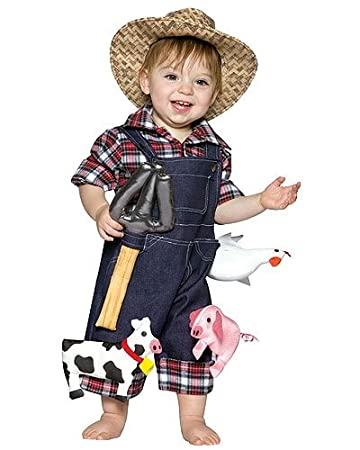 Amazoncom Future Farmer Infant Costume 6 12 Months Baby