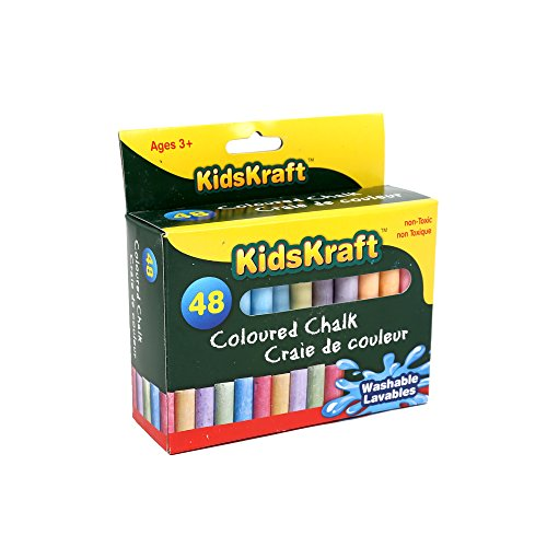 Time 4 Crafts 48-pc Colored Chalk, Pack of 12, 3.5 inches, (Michaels Paint Pens)
